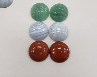 1strand natural bluelace agate plain ball 6mm