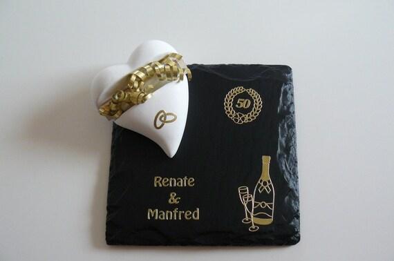 Geldgeschenk Geschenk Goldene Hochzeit Vornam Etsy