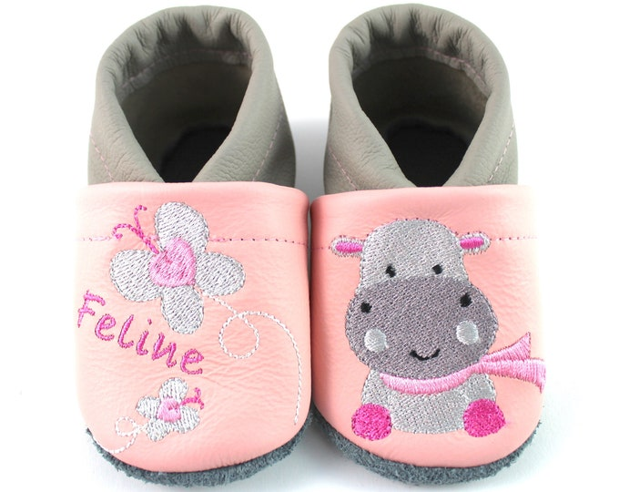 Crawlshoes with names