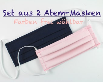 2 face masks, face mask, breathing mask, dust mask, face mask, breathing mask, mouth covering, makeshift mask, mask
