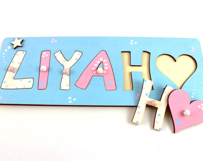 Name Puzzle Wooden Puzzle Puzzle Baby