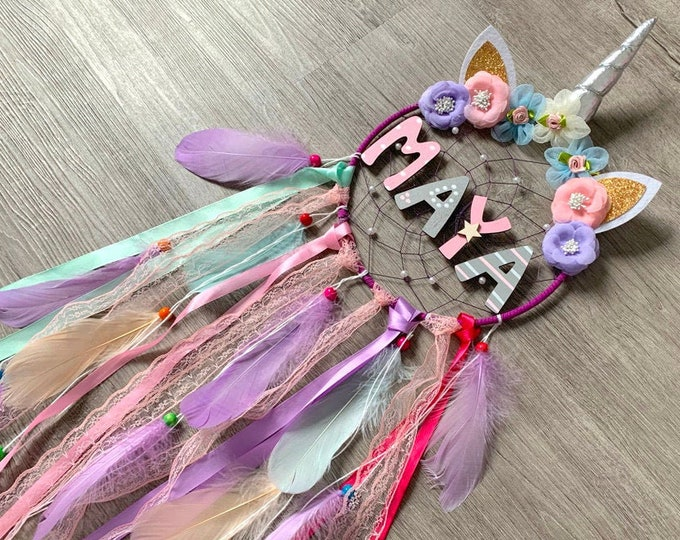 Dreamcatcher with names