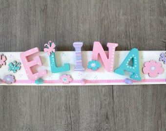 Children's wardrobe, wardrobe, favorite shop, custom children's wardrobe - pink, mint
