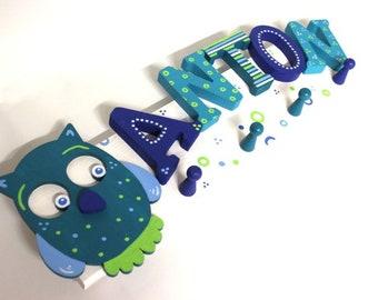 Children's wardrobe, wardrobe, favorite shops, individual children's wardrobe-owl