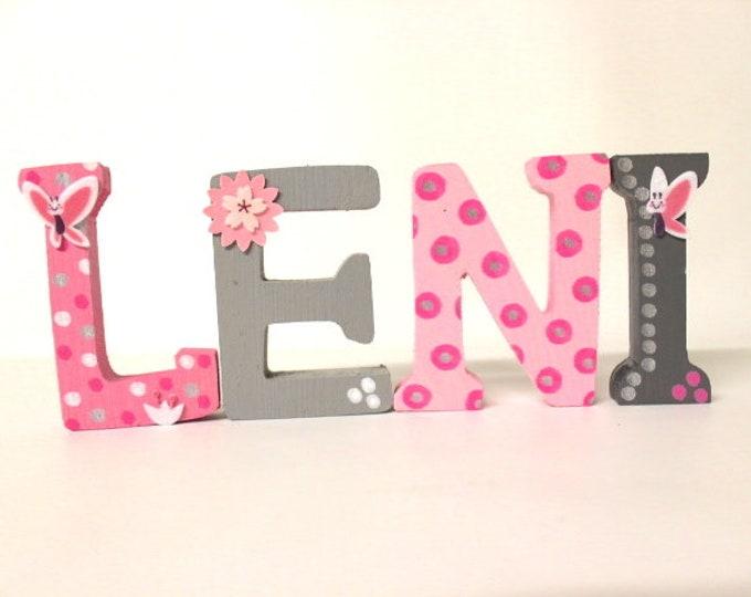 Wooden letters , decorative letters, letter decor , wooden monogram, wedding letters
