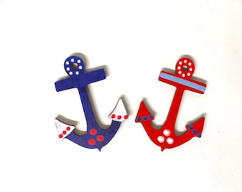 2 Anchors matching our wooden letters