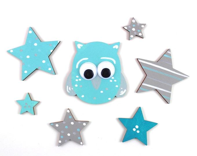 Owl 8 cm + star