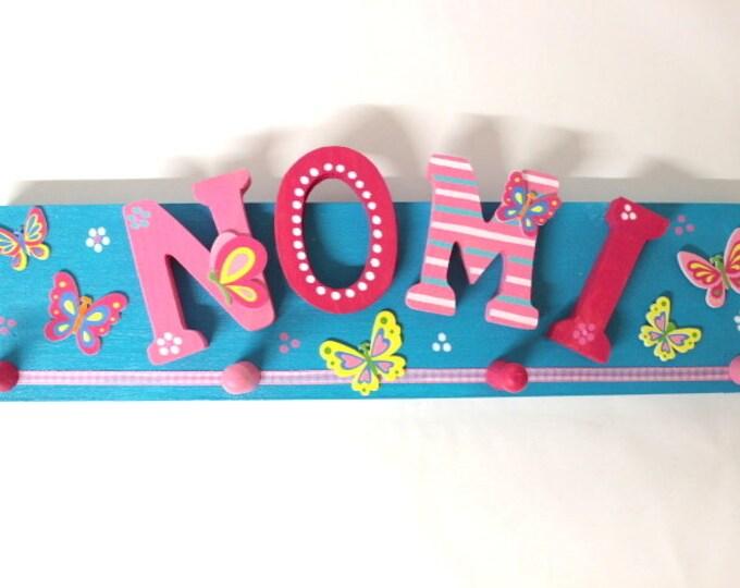 Children's wardrobe, wardrobe, favorite shops, individual children's wardrobe-butterflies