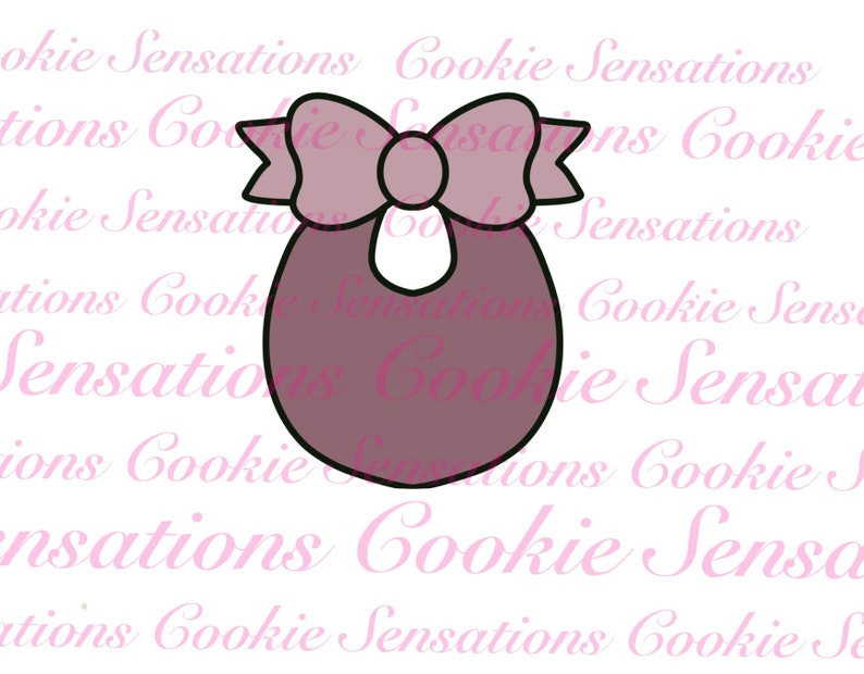Baby Bib Cookie Cutter