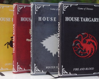 Game of Thrones Agenda SketchBook Fanmade [A6 Dimension - Blank Pages]