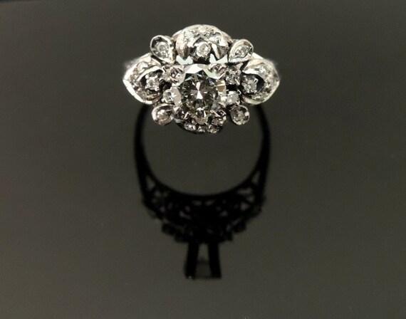 Beautiful Victorian Vintage Wedding Ring