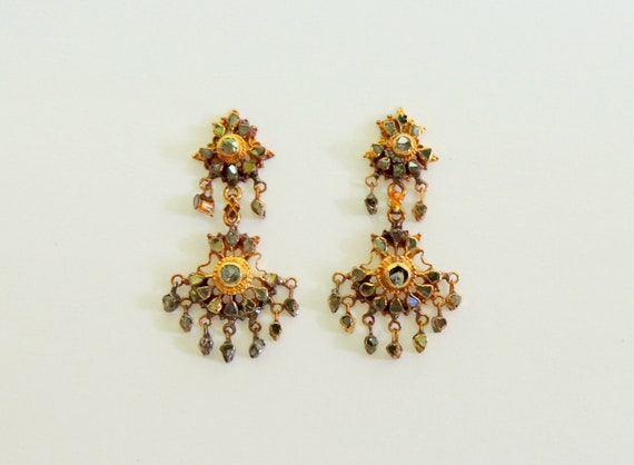 Rustic Chandelier Earrings. - image 3