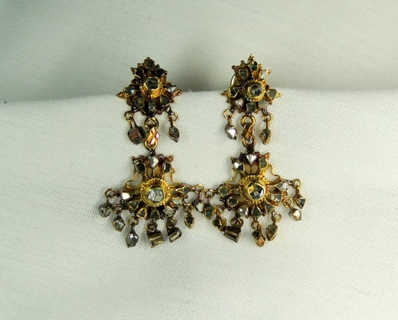 Rustic Chandelier Earrings.