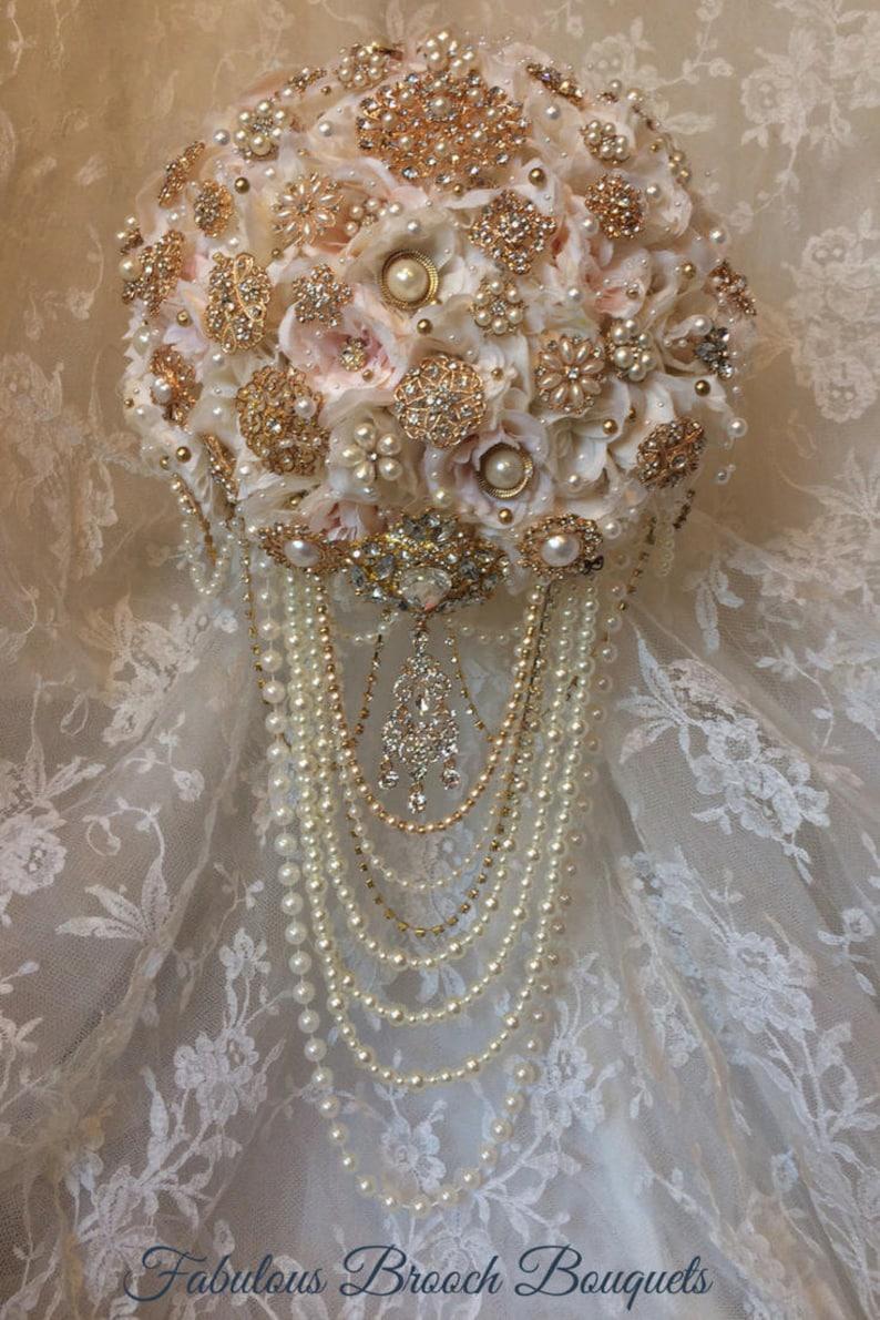 8372717e789 Fard à joues broche Bouquet fleurs de mariage. Bouquet de la