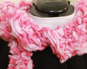 Pink Scarf Perfect for Breast Cancer Awareness Month
