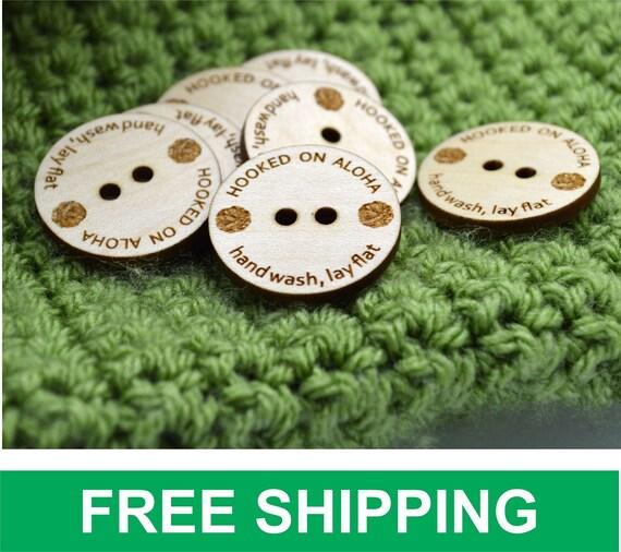 50 Wooden Buttons 1