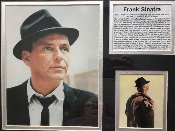 REPRINT REFRIGERATOR MAGNET FRANK SINATRA