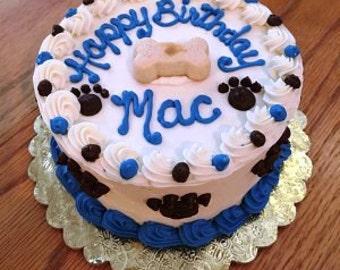 Dog Cake 6 Happy Birthday Puppy