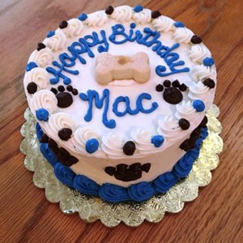 Dog Cake 6 Happy Birthday Puppy About 8 Servings