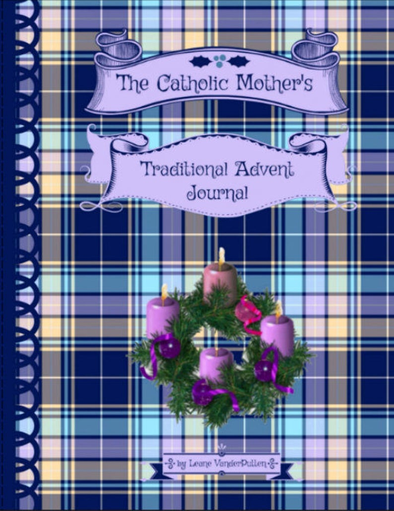 The Catholic Mother's Traditional Advent Journal image 0