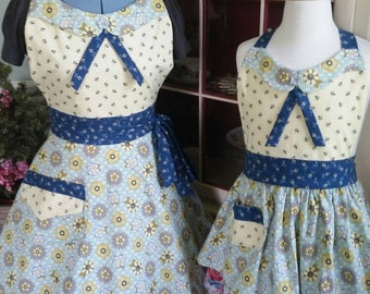"Matching ""Sweet Bee"" Aprons! Feminine and Beautiful!"