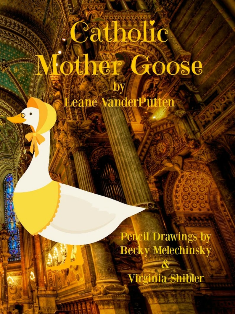 Delightful Catholic Mother Goose Poetry Book Lighthearted image 0