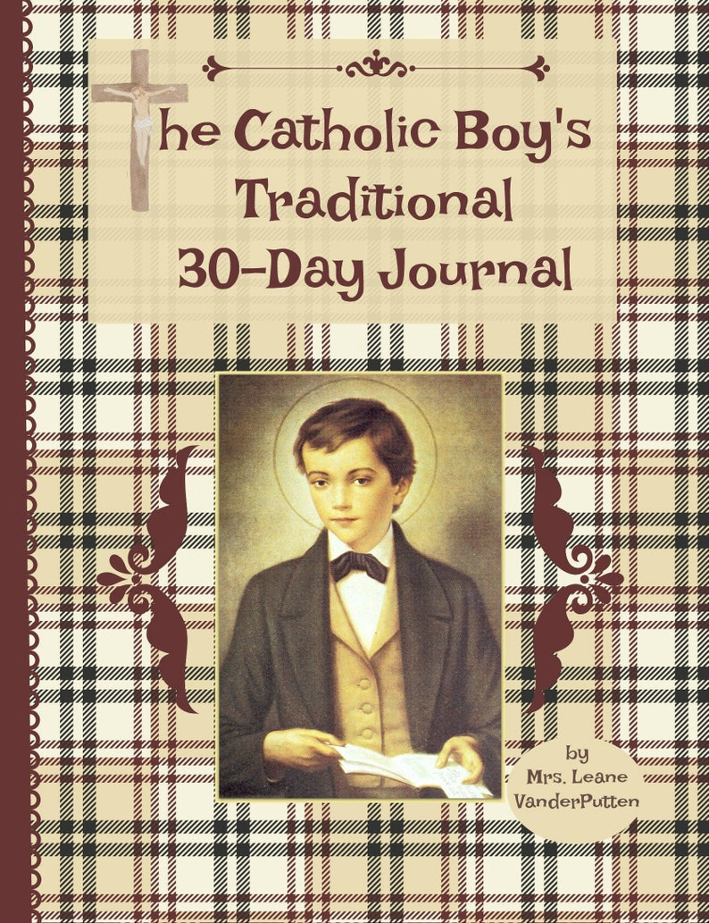 The Catholic Boy's Traditional 30-Day Journal image 0