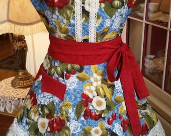 Cherry Blossoms Apron! Feminine and Beautiful!