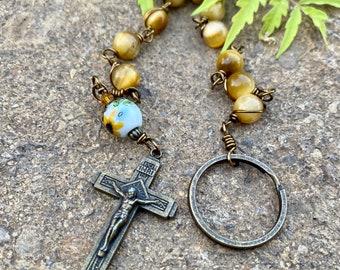 Elegant Decade Penal Rosary