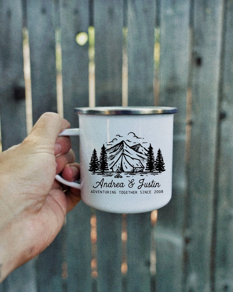 Personalized Campfire Mug  coffee mug coffee camping image 0