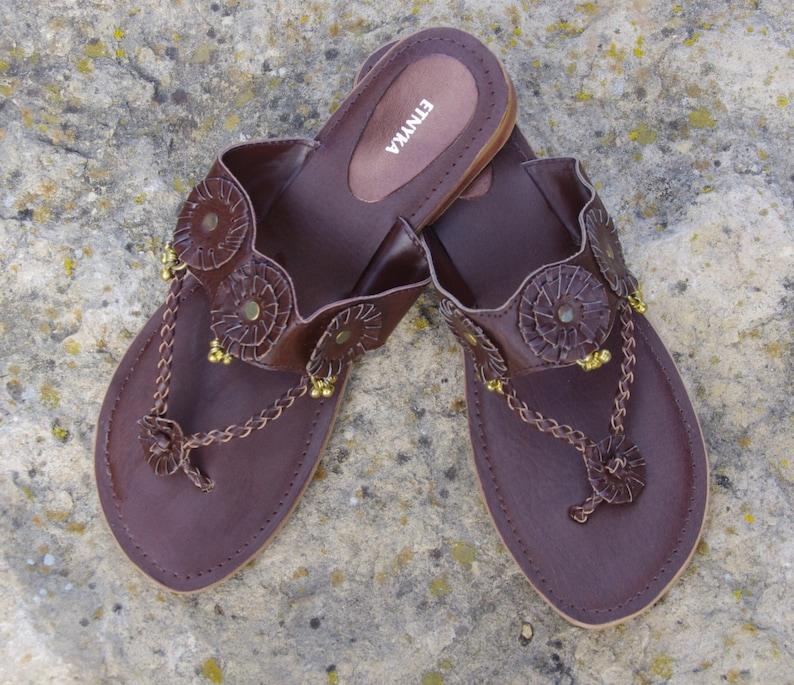 944b38e019f88 Leather Shoes Indian Sandals Shoes Women Leather Flats Womens Shoes Boho  Sandals Leather Sandals Flip Flops Shoes Handmade Flip Flops
