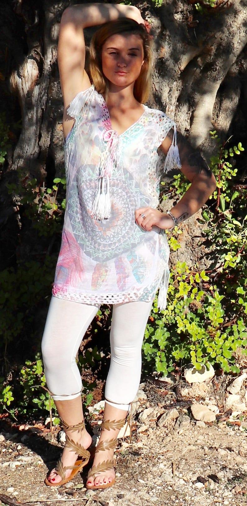 534cf0ef5efeb6 Women Tunic Tops For LeggingsWomens Tunic DressCotton