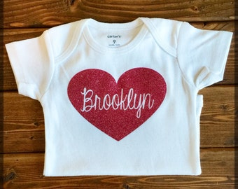 Personalized Heart Bodysuit