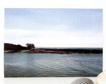 Beach Decor, A4 Seascape Printable Art, Downloadable Art Print, Printable Wall Art, Australian Landscape Print, Digital Art, Gift for Men