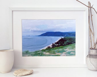 View from Port Douglas digital painting