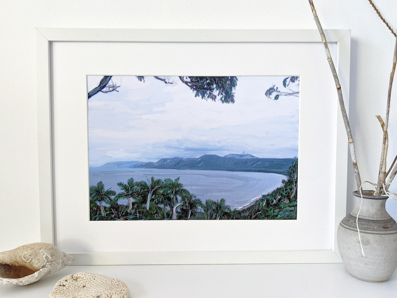 View from Port Douglas digital painting image 0