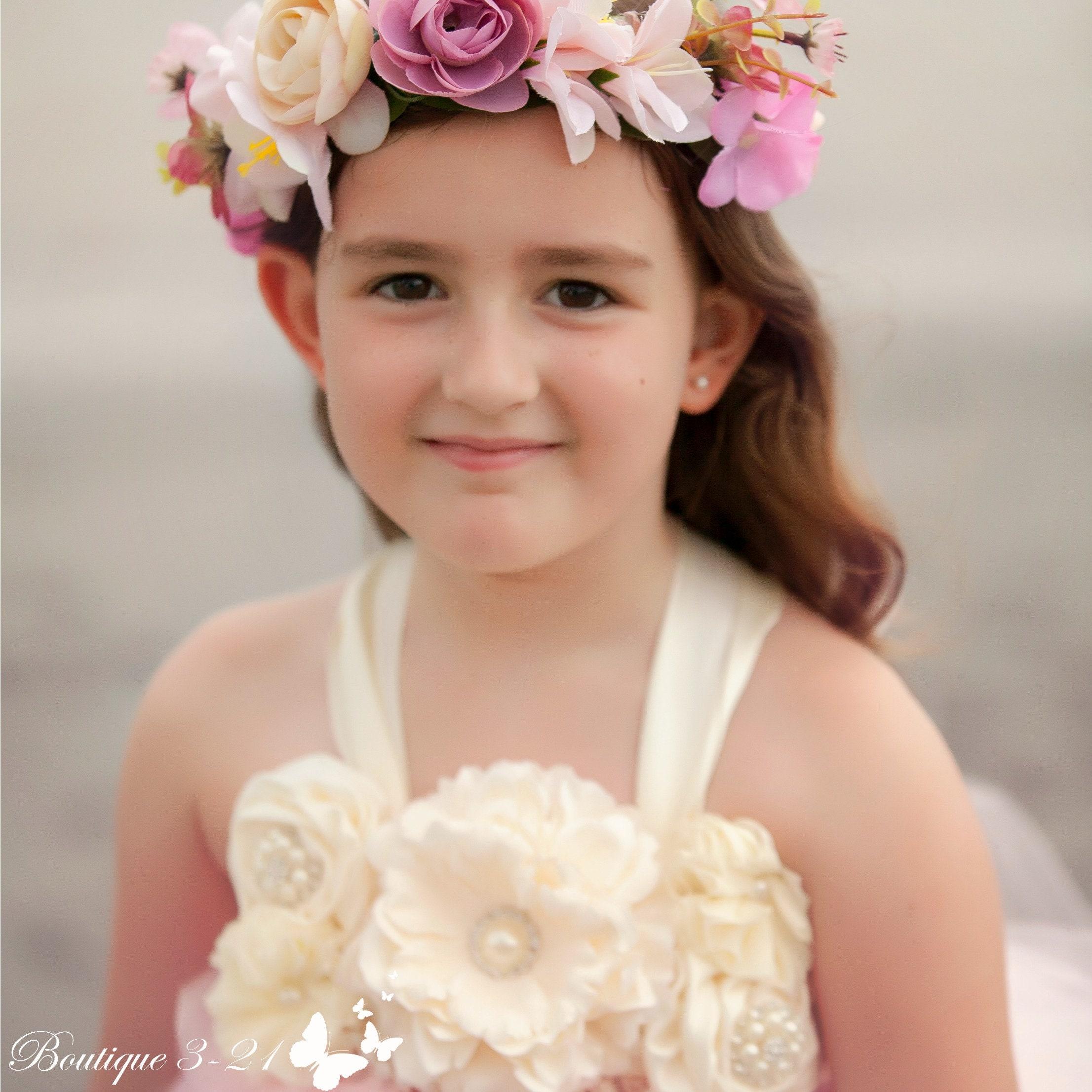 Light Pink Flower Girl Dress Light Pink Tutu Dress Light Pink