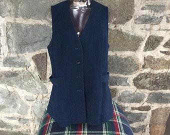 Vintage 1960's Pendleton Wool Vest