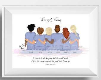 Nurse gift, Nurse appreciation gift, Gift for nurse, Nurse graduation gift, Nurse gifts, Nurse decor, Nurse thank you card, Medical student