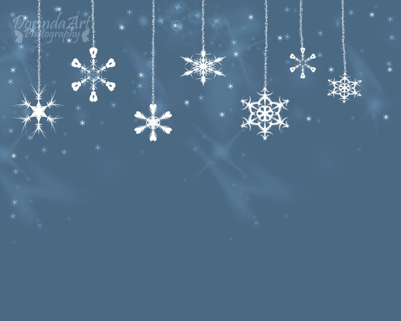 Schneeflocke Druck Custom Weihnachten Druck personalisiert | Etsy