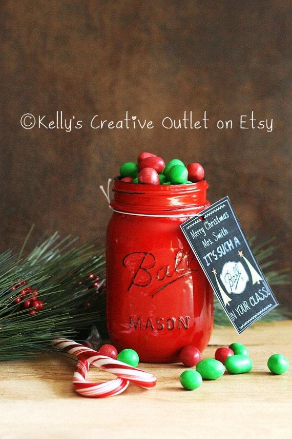 Teacher Gift Teacher Mason Jar Teacher Christmas Gift | Etsy