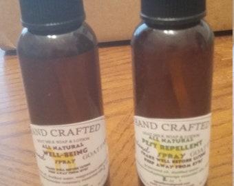 Essential Oil Sprays