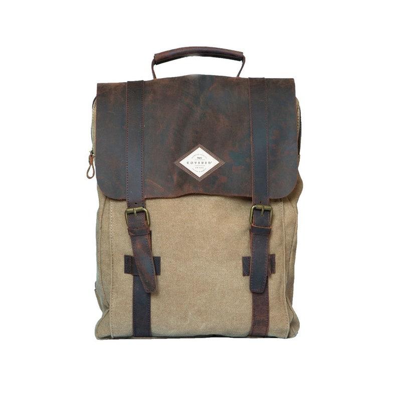 Backpack men canvasBackpack for manbackpack women in image 0