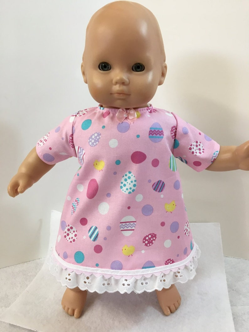 1cc906212 Bitty Baby Clothes Adorable Pink  EASTER  Dress with