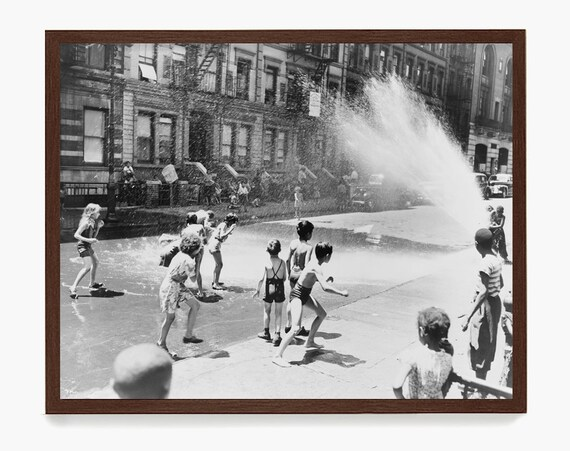 Vintage New York City Photograph, Summer in the City, New York City Art, Fine Art Photography, Cityscape, New York Art, New York City Poster