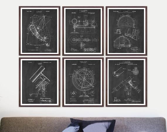Astronomy Patent - Astronomy Art - Space Patent - Space Art - Space Poster - NASA Art - Stars - NASA Poster - Telescope Patent - Aliens