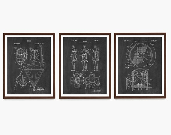 Skydiving Patent Wall Art, Skydiving Poster, Base Jumping, Paratrooper Art, Skydiving Gift, Skydiver, Extreme Sports