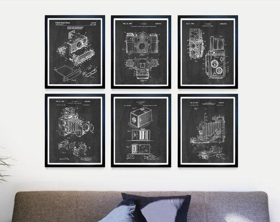 Camera Patent Poster - Camera Art - Camera Poster - Camera Decor - Film Camera - View Camera - Polaroid - 35mm - Photography - Photo Art