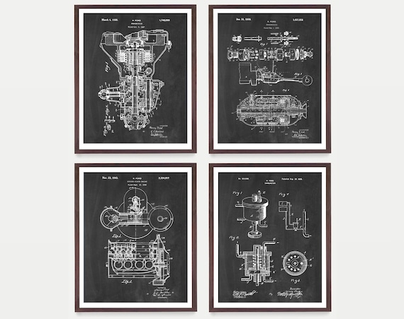 Ford Patent, Henry Ford Patent, Ford Motors, Ford Transmission Patent, Ford Poster, Ford Motors Art, Car Patent Motor Patent, Engine