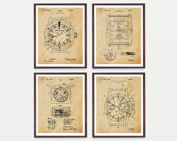 Watch Patent Posters, Watch Art, Rolex Poster, Rolex Watch, Rolex Art, Rolex Wall Art, Watch Gift, Wrist Watch, Rolex Patent Art, Rolex Gift